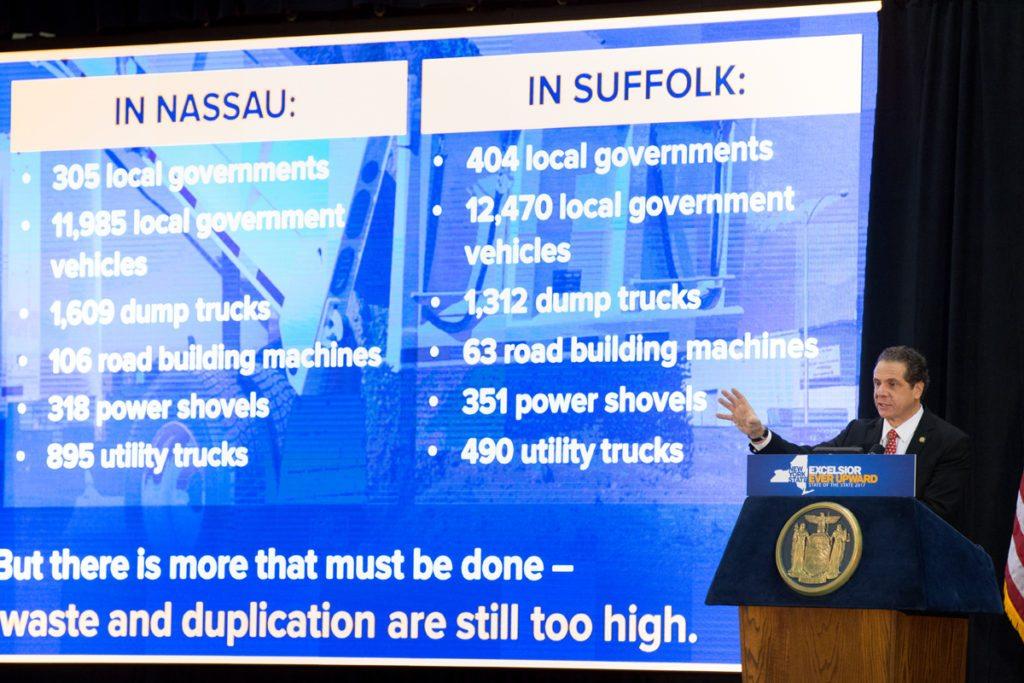 Cuomo address Long Island