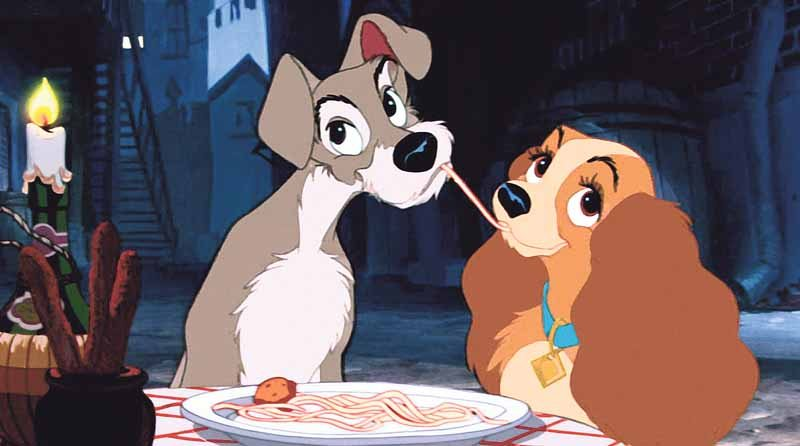 Lady and the Tramp - dog movies