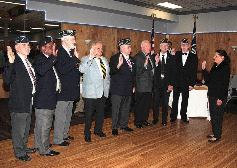 County Clerk Attends United Veterans Organization Officer Installation