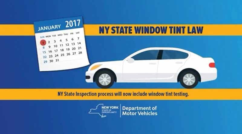 Tinted windows banned in new york state long island weekly for Motor vehicle long island