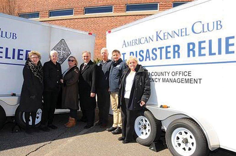 Ladies Kennel Association Donates Relief Trailer