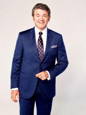GREAT NEWS -- Season: Pilot -- Pictured: John Michael Higgins as Chuck -- (Photo by: Virginia Sherwood/NBC/NBCU Photo Bank)