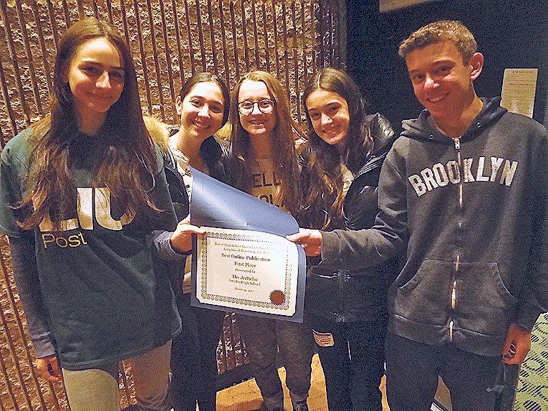 Best Of High School Journalism Award Winners