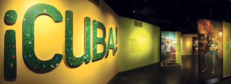 ¡Cuba! exhibition (Photos courtesy of AMNH/D. Finnin)