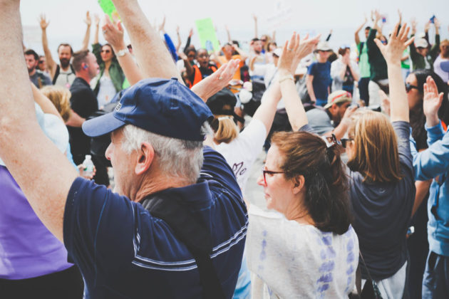 Climate March Long Island Photo by Arien Dijkstra