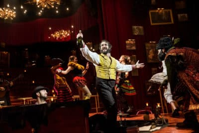 The Great Comet Photo by Chad Batka