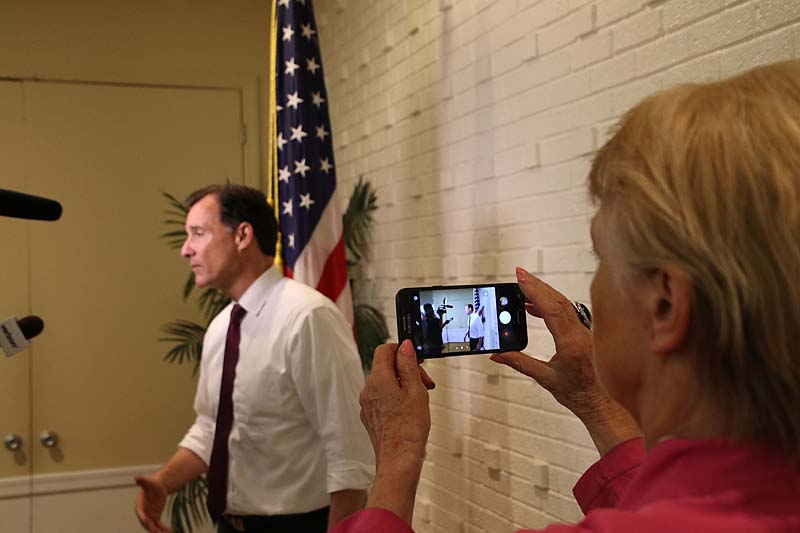 Congressman Tom Suozzi hosts monthly town hall (Photos by Frank Rizzo)