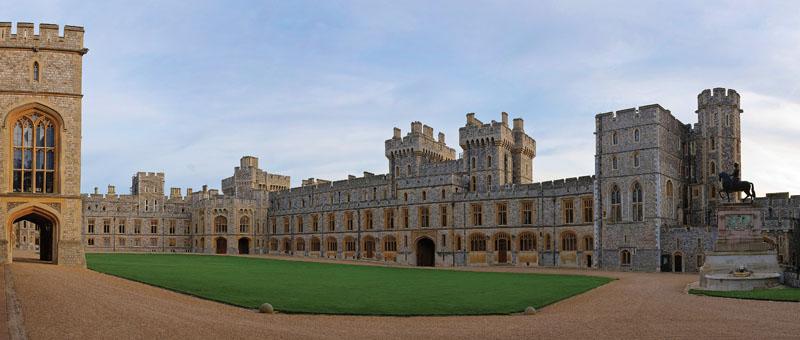 best English castles