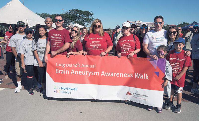Brain Aneurysm Awareness Walk