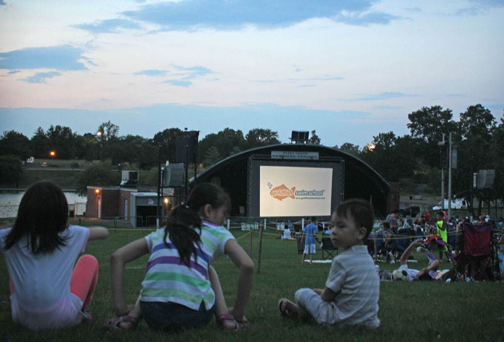 Family Movie Night Eisenhower Park 2018 Free Summer Entertainment Schedule