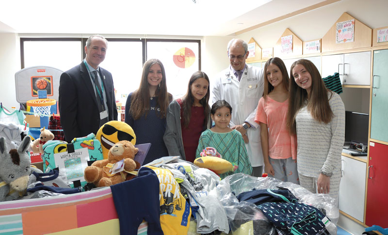 Pajama Day Comforts Kids At NYU Winthrop Hospital - Long Island Weekly