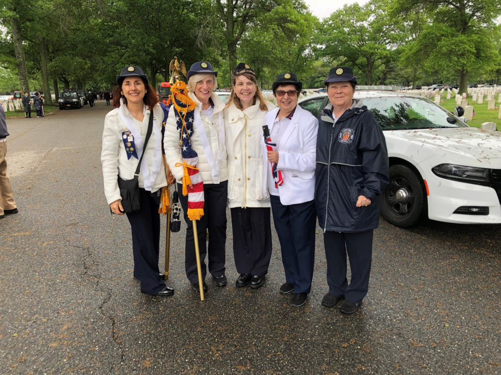 Nassau County American Legion Auxiliary Pays Respects To Fallen Heroes