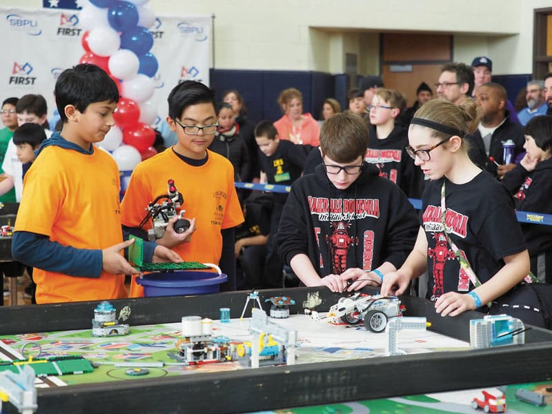 First LEGO League Qualifiers To Begin Across Long Island