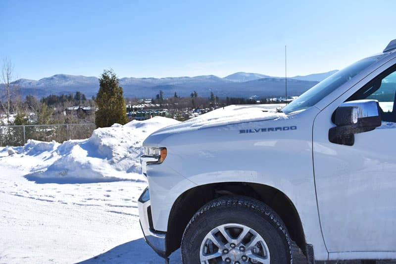 Chevy Silverado view