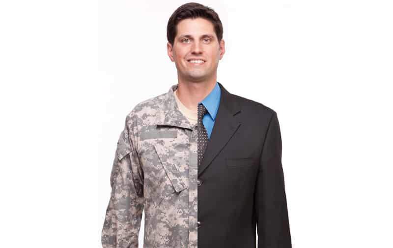 Military veteran in the workplace