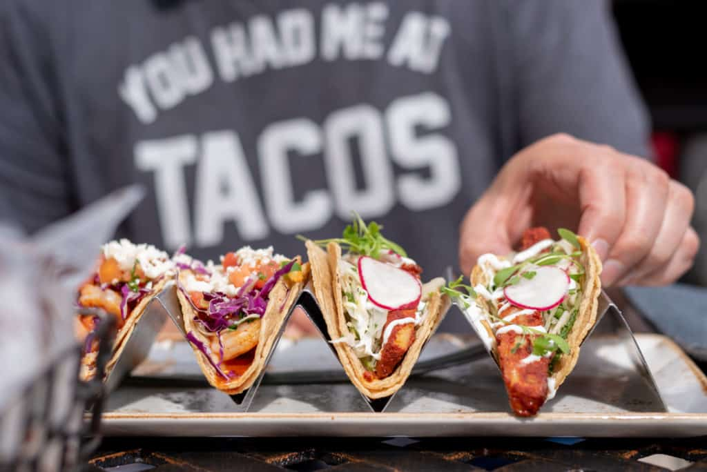 Uptown Taco is located in the heart of Floral Park village.